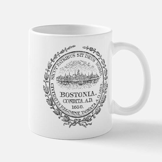 Vintage Boston Seal Mug