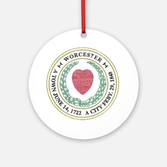 Vintage Worcester Ornament (Round)
