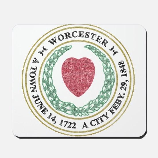 Vintage Worcester Mousepad