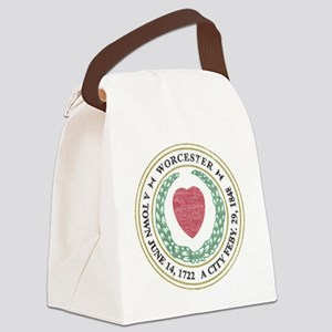 Vintage Worcester Canvas Lunch Bag