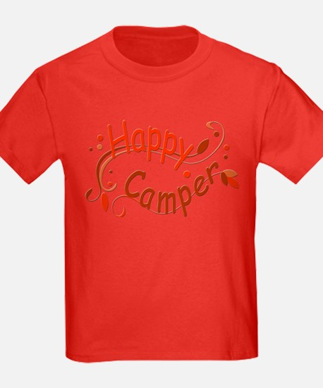 Happy Camper Red T-Shirt