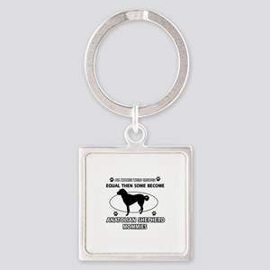 Funny Anatolian Shepherd dog mommy designs Square