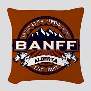 Banff Vibrant Woven Throw Pillow