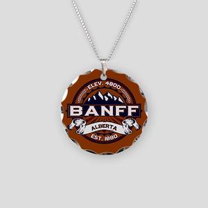 Banff Vibrant Necklace Circle Charm