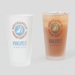 Vintage Minneapolis Aquatennial Drinking Glass
