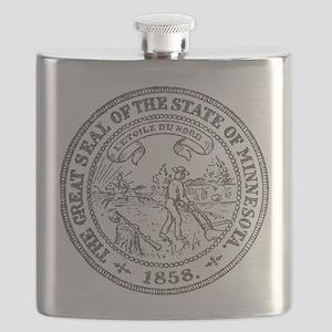 Minnesota Seal Flask