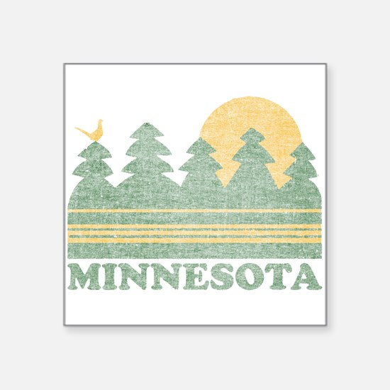 Vintage Minnesota Sunset Sticker