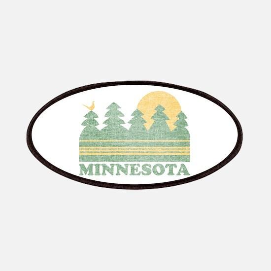 Vintage Minnesota Sunset Patches