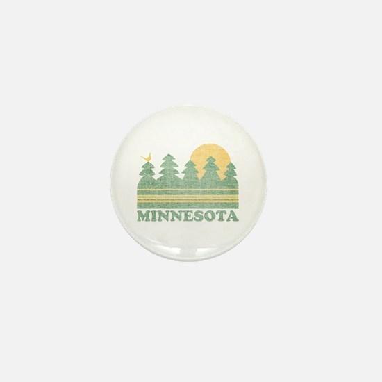 Vintage Minnesota Sunset Mini Button