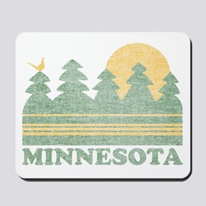 Vintage Minnesota Sunset Mousepad
