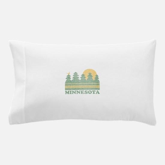 Vintage Minnesota Sunset Pillow Case