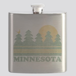Vintage Minnesota Sunset Flask