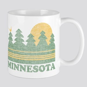 Vintage Minnesota Sunset Mug