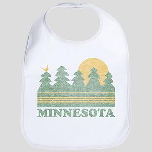 Vintage Minnesota Sunset Bib