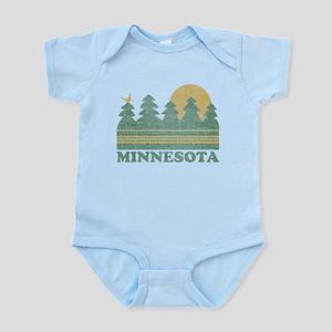Vintage Minnesota Sunset Body Suit