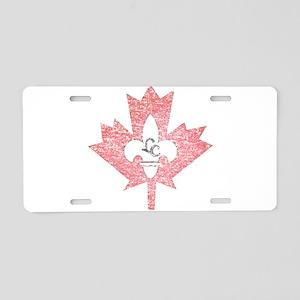 Vintage Little Canada Minnesota Aluminum License P