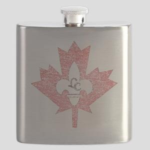 Vintage Little Canada Minnesota Flask
