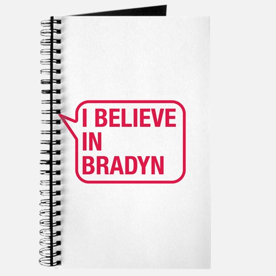 I Believe In Bradyn Journal
