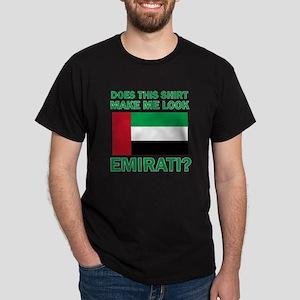 Emirati Flag Designs Dark T-Shirt