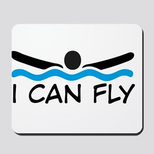 I can fly Mousepad
