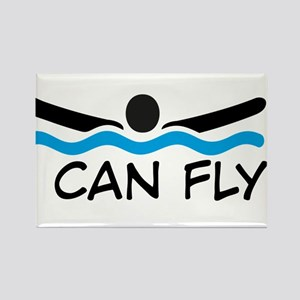I can fly Rectangle Magnet
