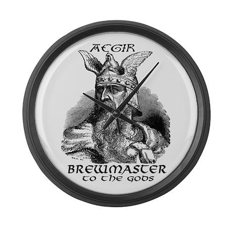 Aegir Viking Brewmaster Large Wall Clock