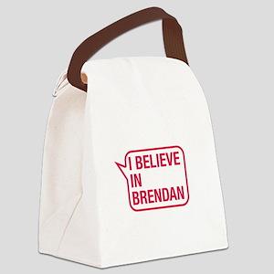 I Believe In Brendan Canvas Lunch Bag