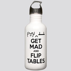 Get Mad and Flip Tables Sports Water Bottle