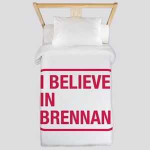 I Believe In Brennan Twin Duvet