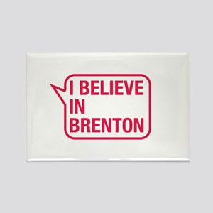 I Believe In Brenton Rectangle Magnet