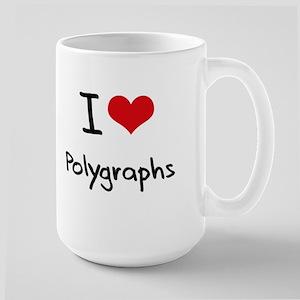 I Love Polygraphs Mug