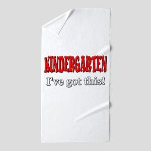 Kindergarten I've Got This Beach Towel