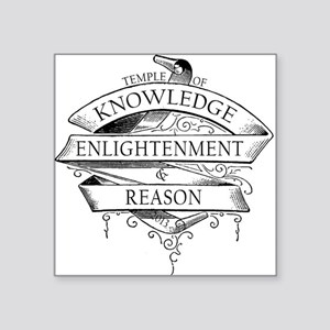 Temple of Knowledge, Enlightenment Reason Sticker