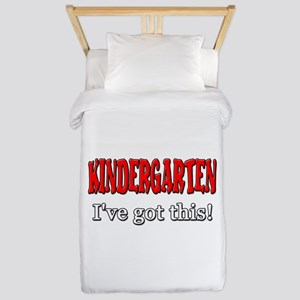Kindergarten I've Got This Twin Duvet Cover