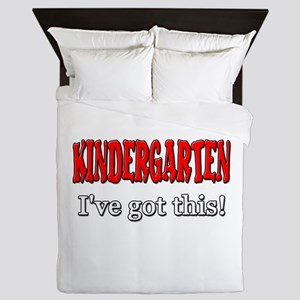 Kindergarten I've Got This Queen Duvet