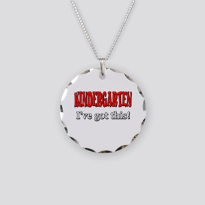 Kindergarten I've Got This Necklace Circle Charm