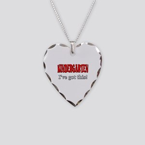Kindergarten I've Got This Necklace Heart Charm