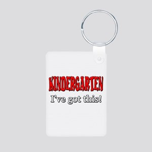 Kindergarten I've Got This Aluminum Photo Keychain