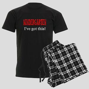 Kindergarten I've Got This Men's Dark Pajamas