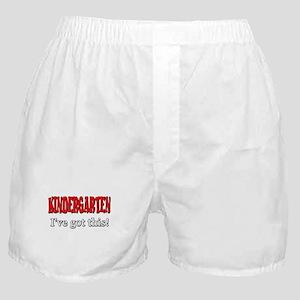 Kindergarten I've Got This Boxer Shorts