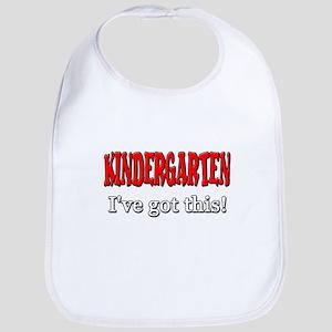 Kindergarten I've Got This Cotton Baby Bib