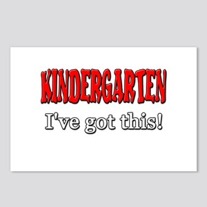 Kindergarten I've Got Thi Postcards (Package of 8)