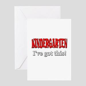 Kindergarten I've Got This Greeting Card