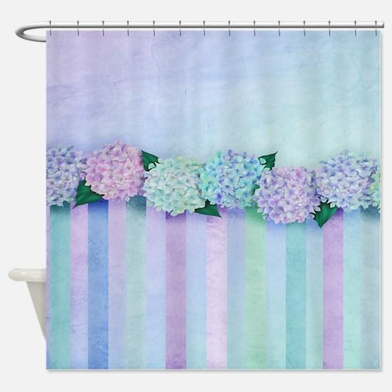 Hydrangea Dreams Shower Curtain
