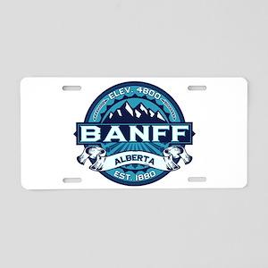 Banff Ice Aluminum License Plate