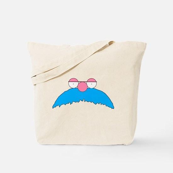 Einstein mustache 1 Tote Bag