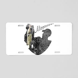 Mississippi Fishing Aluminum License Plate