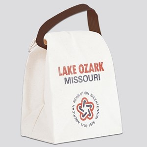Vintage Lake Ozark Canvas Lunch Bag