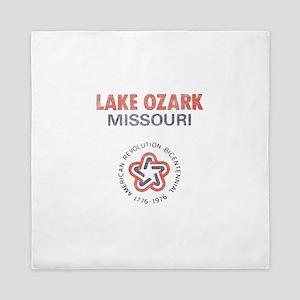 Vintage Lake Ozark Queen Duvet
