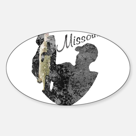 Missouri Fishing Decal